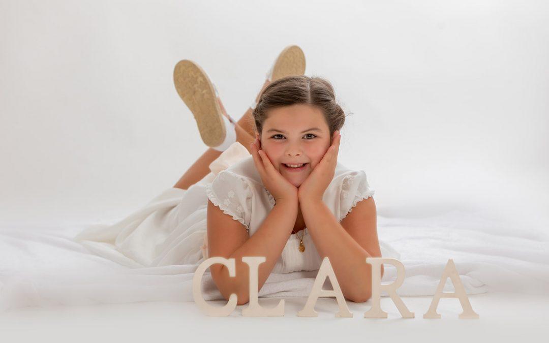 Clara, fotos e música